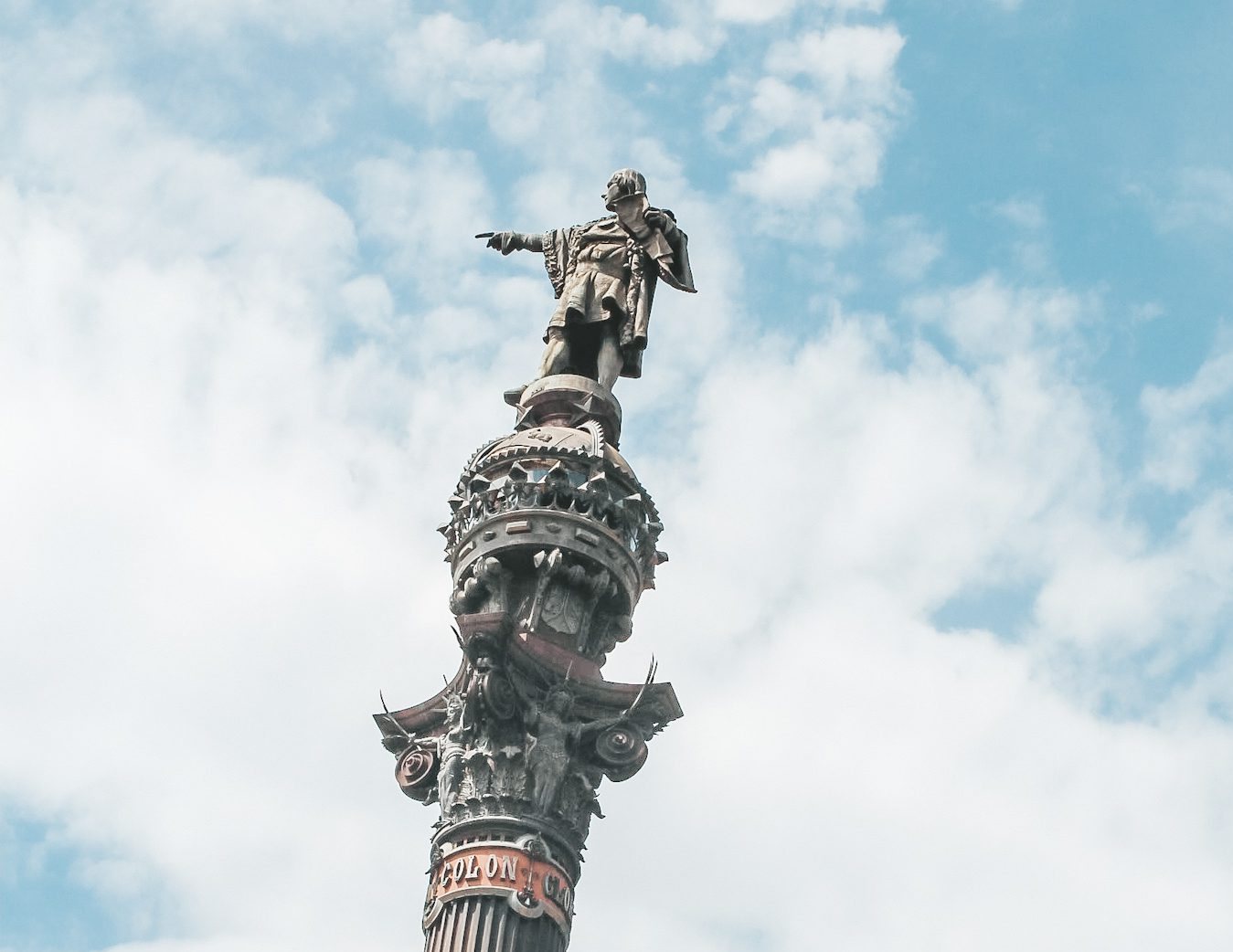 Christopher Kolumbus in Barcelona